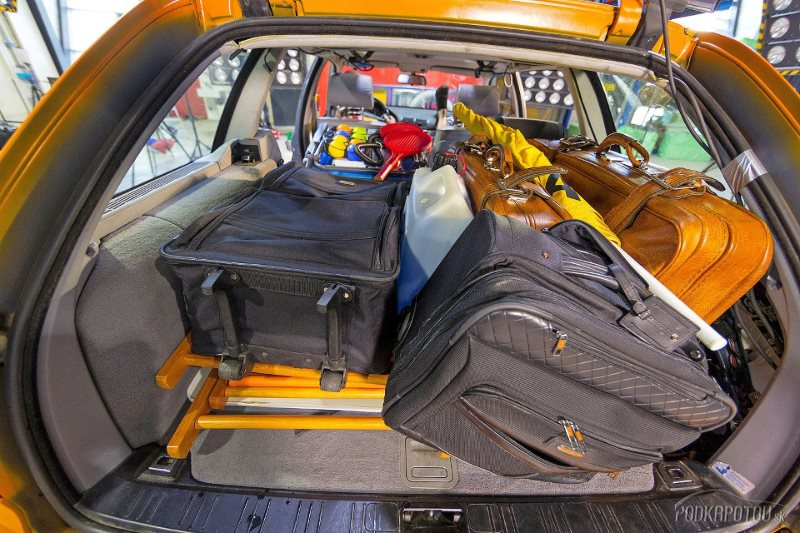 крупный багаж в салон
